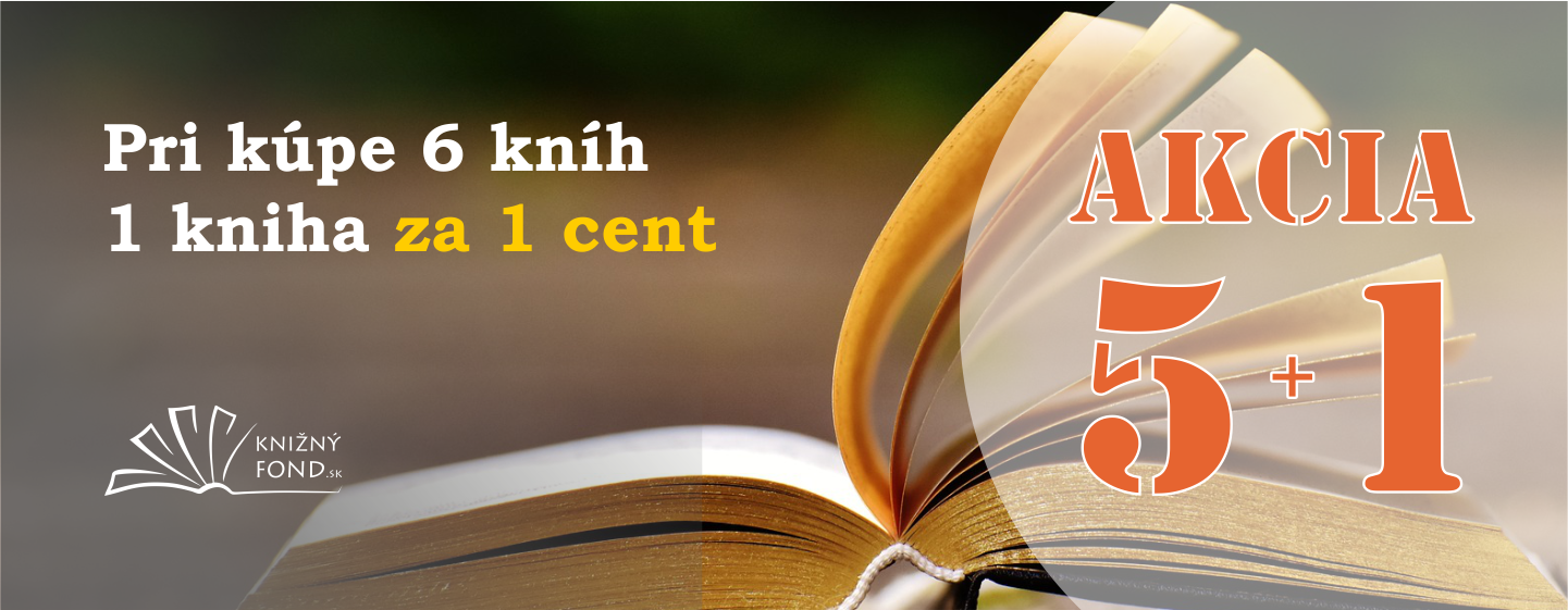 Pri kúpe 6 kníh jedna kniha za 1 cent