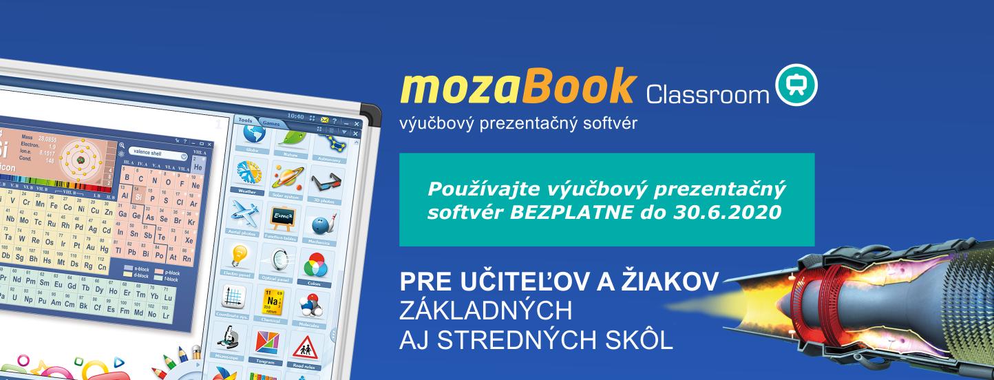 Výučbový softvér mozaBook